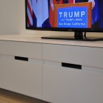mobile tv panca bassa